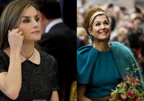 Letizia Ortiz, Maxima d'Olanda: look autunnali FOTO