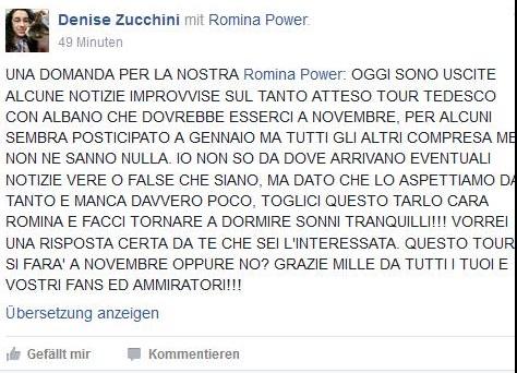 Romina Power e Albano, mistero concerto in Germania: si farà o no?