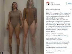 Kim e Klhoe Kardashian, nella doccia con i body trasparenti 2