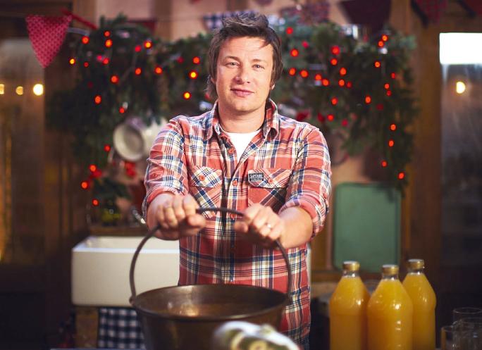 Jamie Oliver, ricette natalizie... da 10.000 calorie al giorno