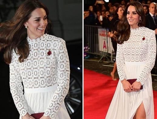 Kate Middleton osa: lo spacco fa impallidire la regina FOTO