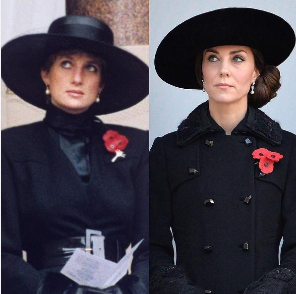 Kate Middleton copia Lady Diana... 25 anni dopo FOTO