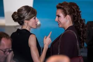 Letizia Ortiz, Lalla Salma: look a confronto FOTO