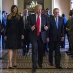Melania Trump, Letizia Ortiz: look a confronto FOTO
