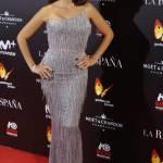 Penelope Cruz, abito monospalla firmato Versace FOTO