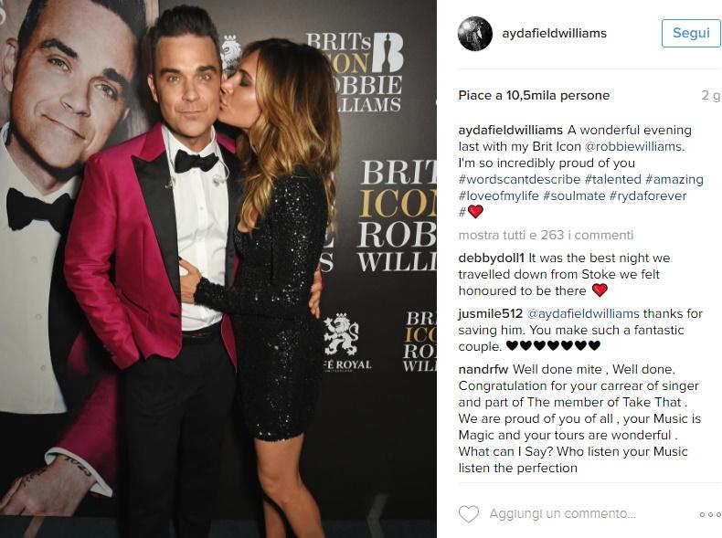 Robbie Williams: età, altezza, chi è la moglie Ayda Field FOTO