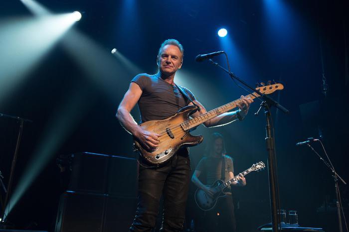 Sting, in concerto al Fabrique di Milano il 23 marzo