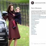 Kate Middleton look: cappotto burgundy riciclato... 4 volte FOTO