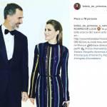 Letizia Ortiz incanta: look multicolor per la regina FOTO