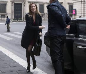 Maria Elena Boschi dimagrita: stress da referendum? FOTO