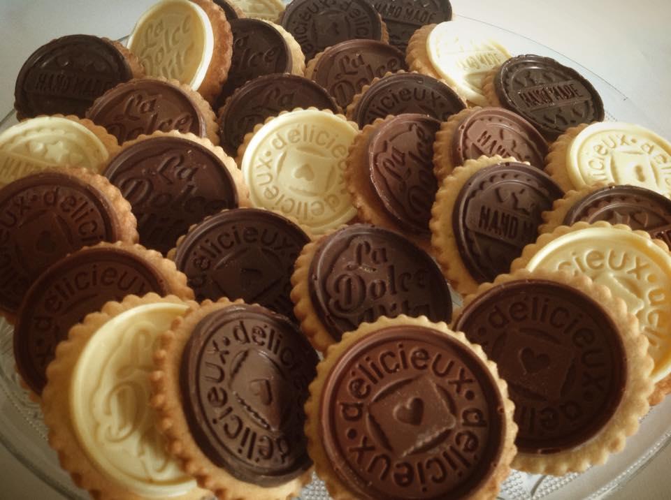Biscotti Golosi ai Tre Cioccolati