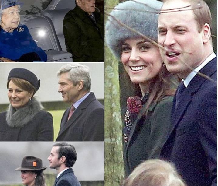 FOTO Kate Middleton  cappotto verde e cappello in pelliccia fd6ef188f745