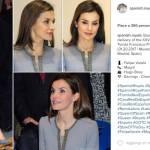 Letizia Ortiz look: completo grigio e tacchi per la regina FOTO
