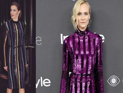 Letizia Ortiz e Diane Kruger in Nina Ricci: look a confronto FOTO