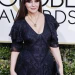 Monica Bellucci, abito scollato by Ralph Lauren ai Golden Globes