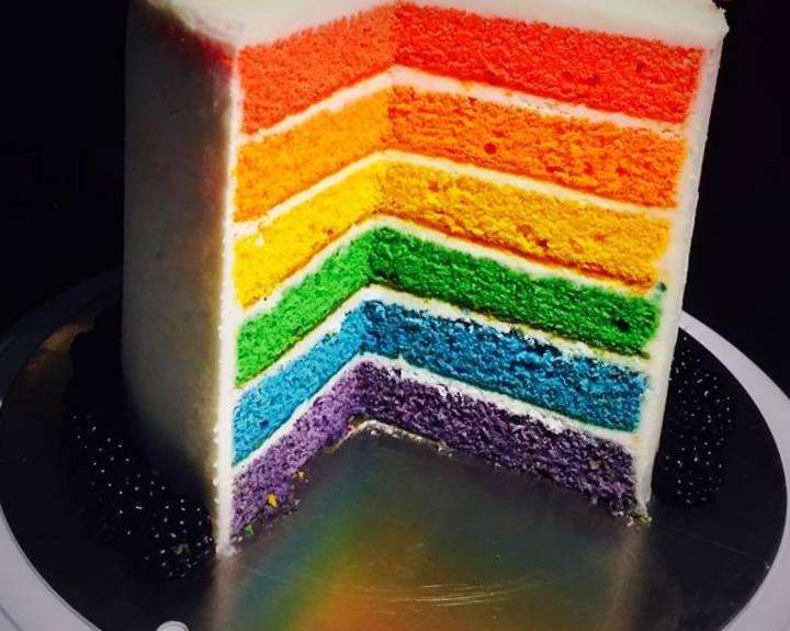 Rainbow Cake... Per un Carnevale colorato...