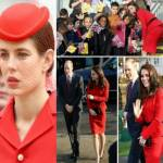 Charlotte Casiraghi, Kate Middleton: tailleur rossi a confronto FOTO