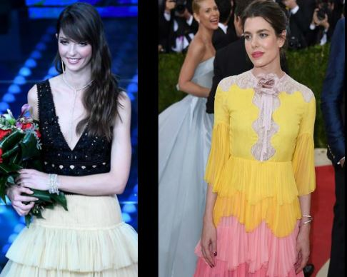 Charlotte Casiraghi, Annabelle Belmondo: look a confronto FOTO