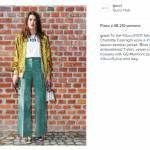 Charlotte Casiraghi e Alexa Chung alla sfilata Gucci a Milano