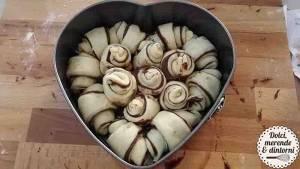 Cuor di Brioche alla Nutella per un San Valentino davvero goloso