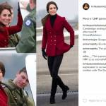 Kate Middleton casual chic: giacca rossa e skinny FOTO