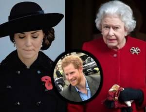 """Kate Middleton e la regina furiose con Harry: """"Sta..."""""""
