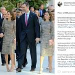 Letizia Ortiz: incontro con il presidente ungherese János Áder
