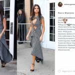 Selena Gomez sensuale: abito scollato e tacchi FOTO