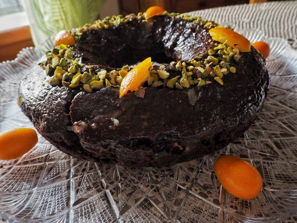 Kumquat Chocolate Cake... per dare il benvenuto alla primavera