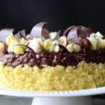 Torta Mimosa Cioccolato e Nocciole