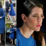 Charlotte Casiraghi, Kate Middleton: passione blu FOTO