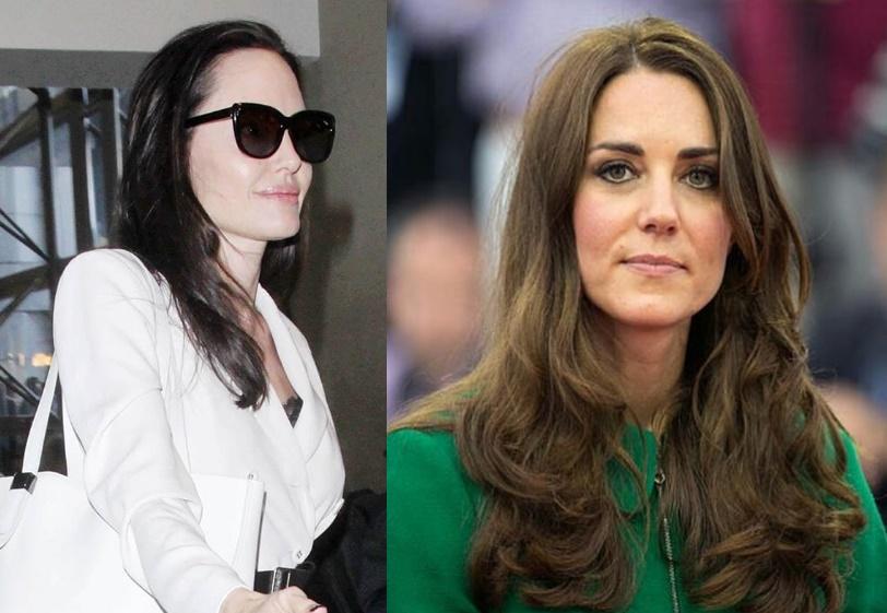 Kate Middleton scarica Angelina Jolie: il gesto che spiazza