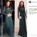 Kate Middleton, splendida in abito verde ma... troppo magra FOTO