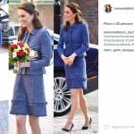 Kate Middleton e quelle gonne corte... smacco alla regina FOTO