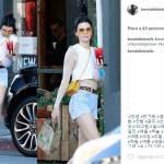 Kendall Jenner: shorts cortissimi e gambe in vista FOTO