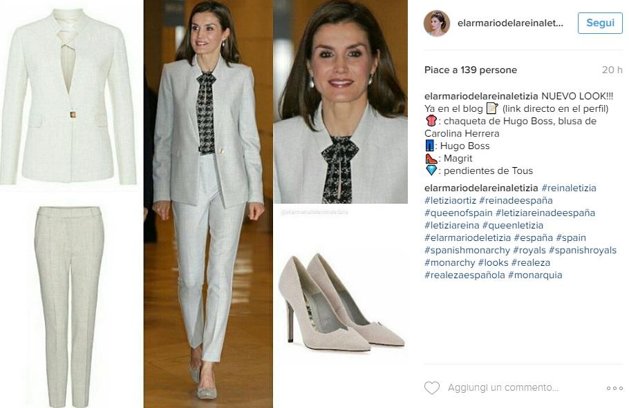 Letizia Ortiz, la regina impeccabile anche in tailleur!