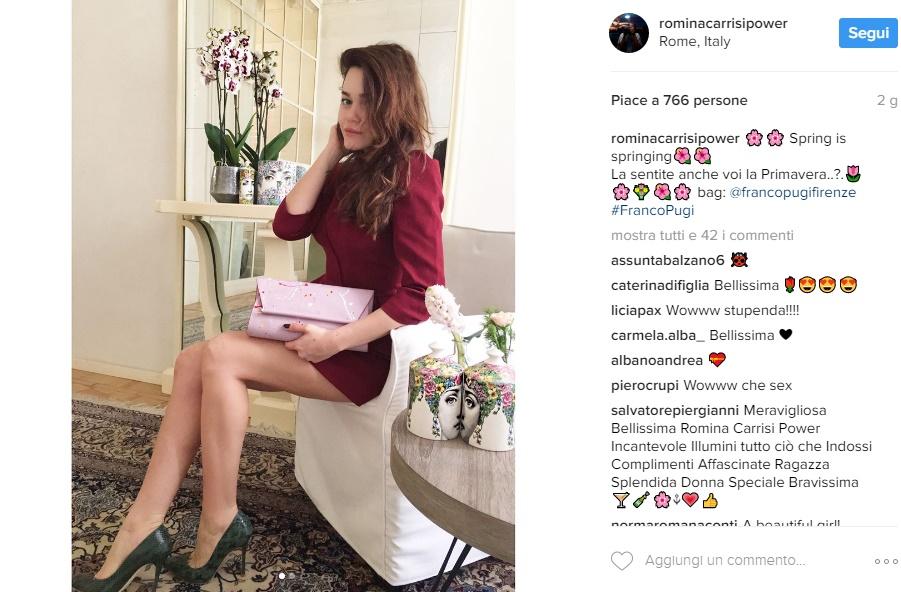 Romina Power, figlia Romina svolta sensuale: gambe in vista FOTO