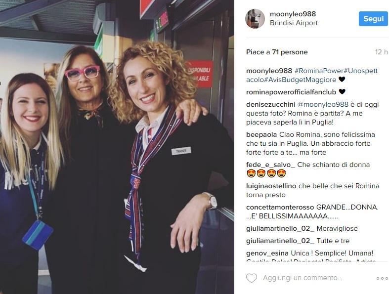 Romina Power in Puglia, è giallo: torna da Albano? FOTO
