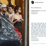 Selena Gomez e The Weeknd: amore e coccole a Buenos Aires FOTO