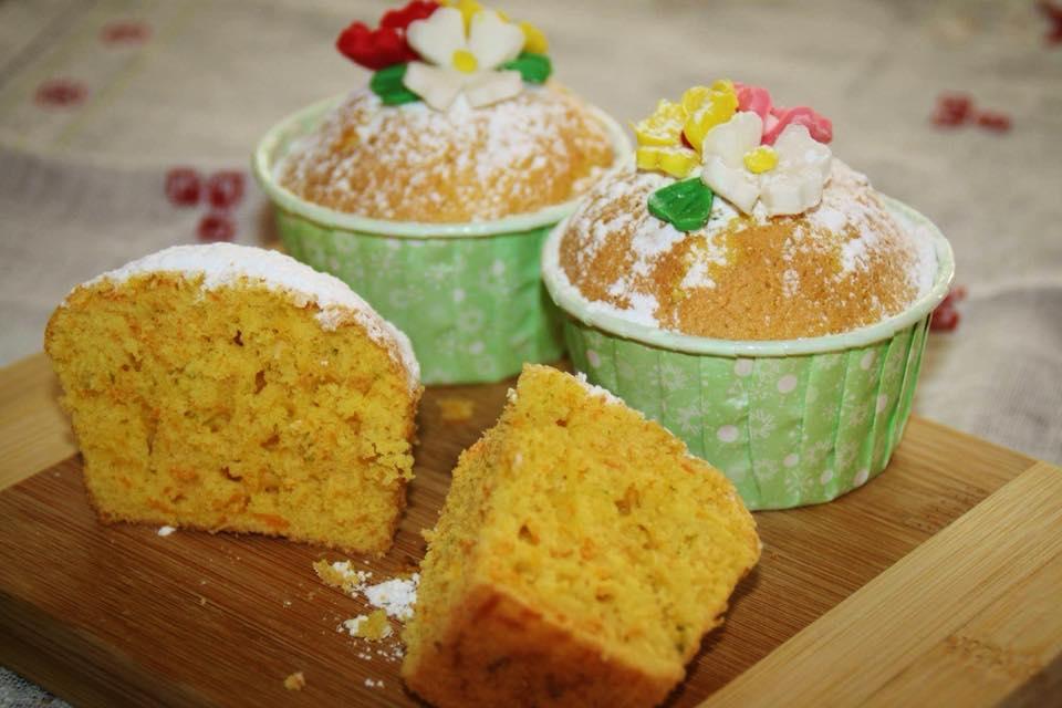 Muffin Carote e Lime (senza glutine)