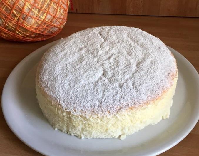 Ogura Cake... Una soffice nuvola tutta asiatica