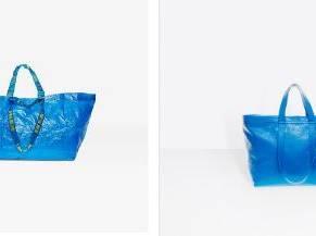 Ikea e Balenciaga: borse troppo simili. Ma l'originale è quella svedese