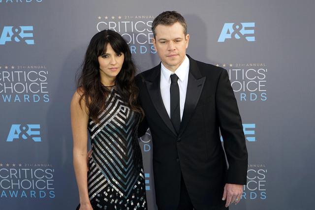Matt Damon: età, chi è la moglie, figli FOTO