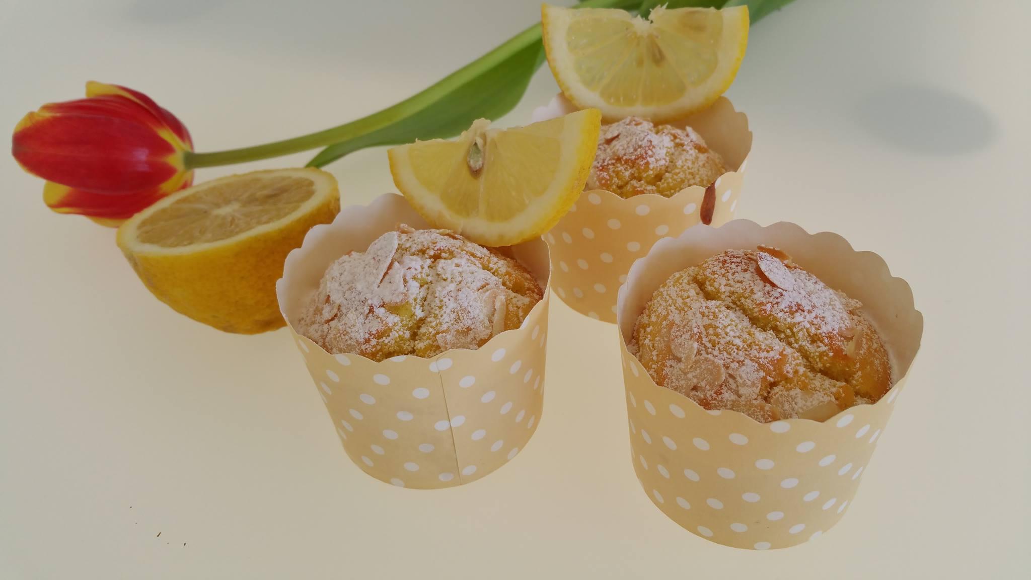 Muffins al Limone e Yogurt del Maestro Luca Montersino...