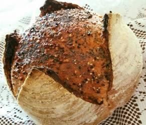 Pane incamiciato con Lievito Madre... bello, sano e gustoso