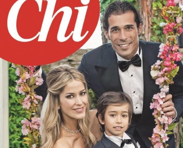 Bernardo Corradi moglie Elena Santarelli, figli (1)2
