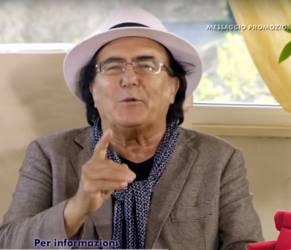 AlBano Carrisi criticato: pubblicità fa discutere il web VIDEO