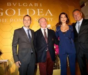 "Bella Hadid testimonial profumo Bulgari ""Goldea The Roman Night"""