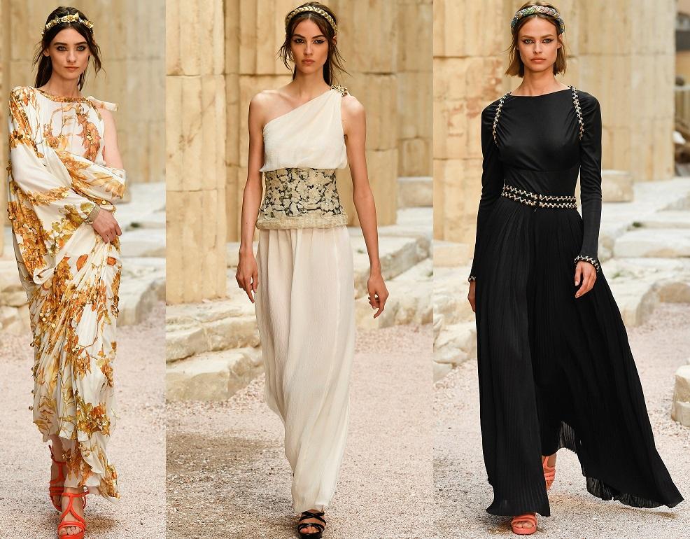 Chanel pre-collection P/E 2018: Karl evoca l'antica Grecia FOTO