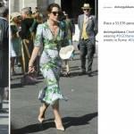 Charlotte Casiraghi copia Melania Trump: sceglie Dolce&Gabbana